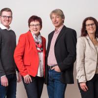 Die Kreistagskandidaten der SPD Nersingen